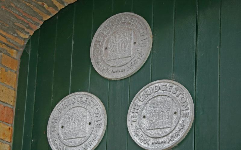 Proud owners of our McKennas' Guides plaques